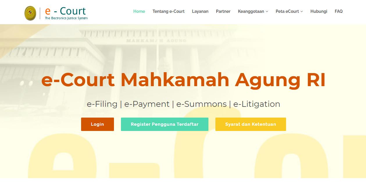 E-Court (Electronic Court)