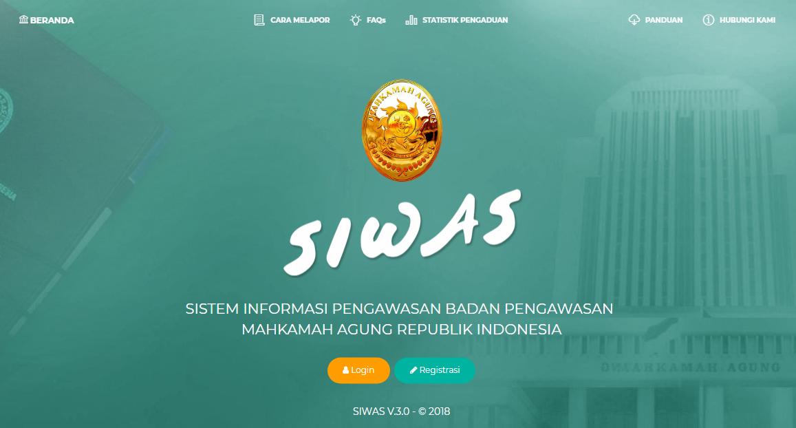SIWAS (Sistem Informasi Pengawasan)